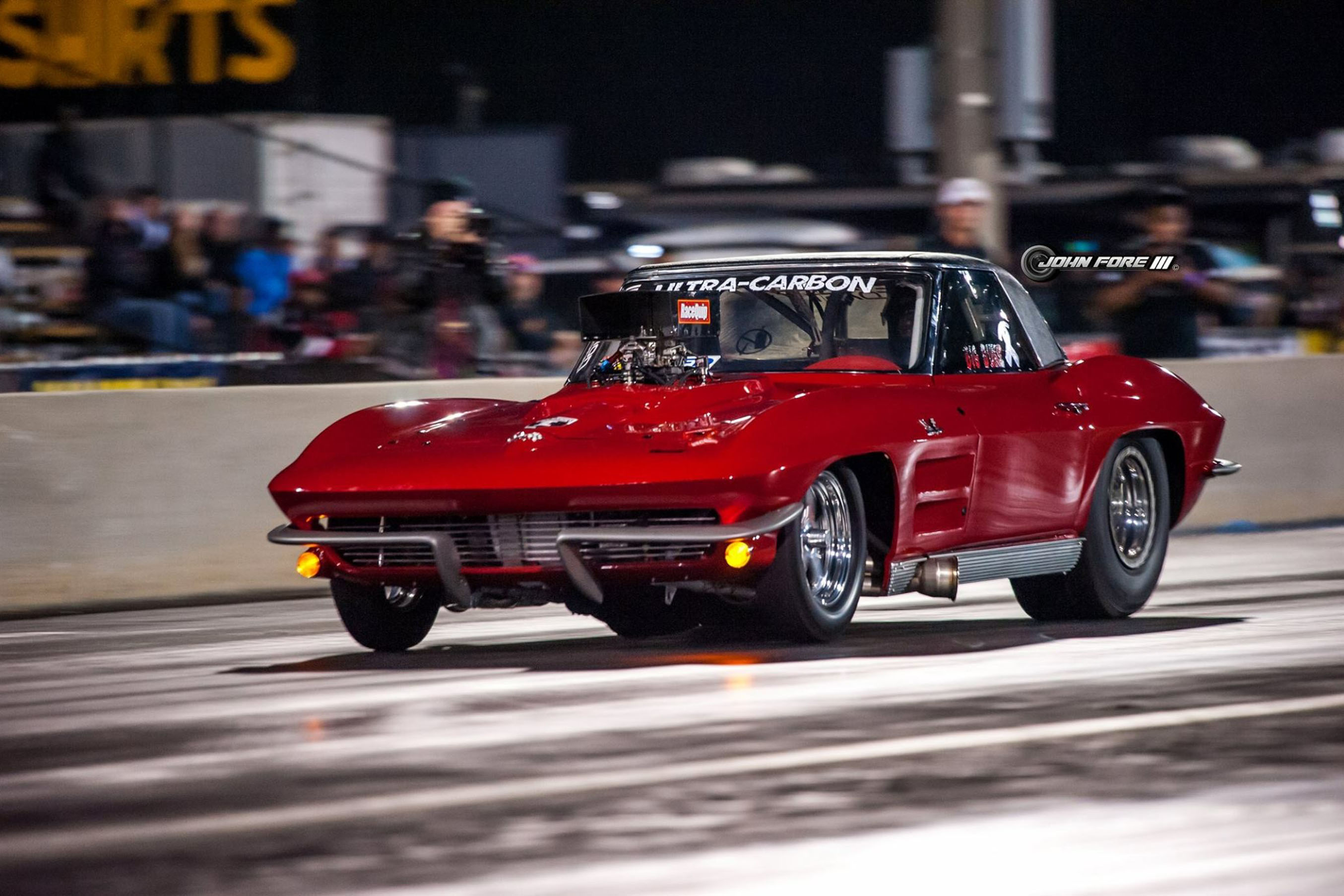 Fast Corvettes are a Family Affair for Street Outlaws' Racer