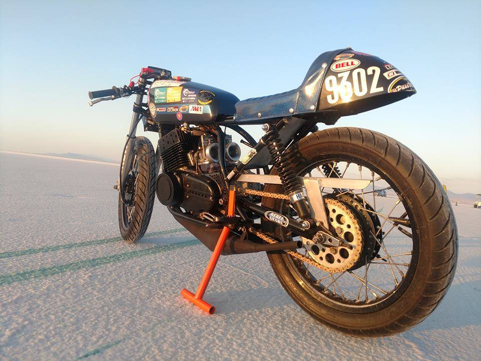 The BREW Bikes Yamaha RD350 Landspeed Bike Build