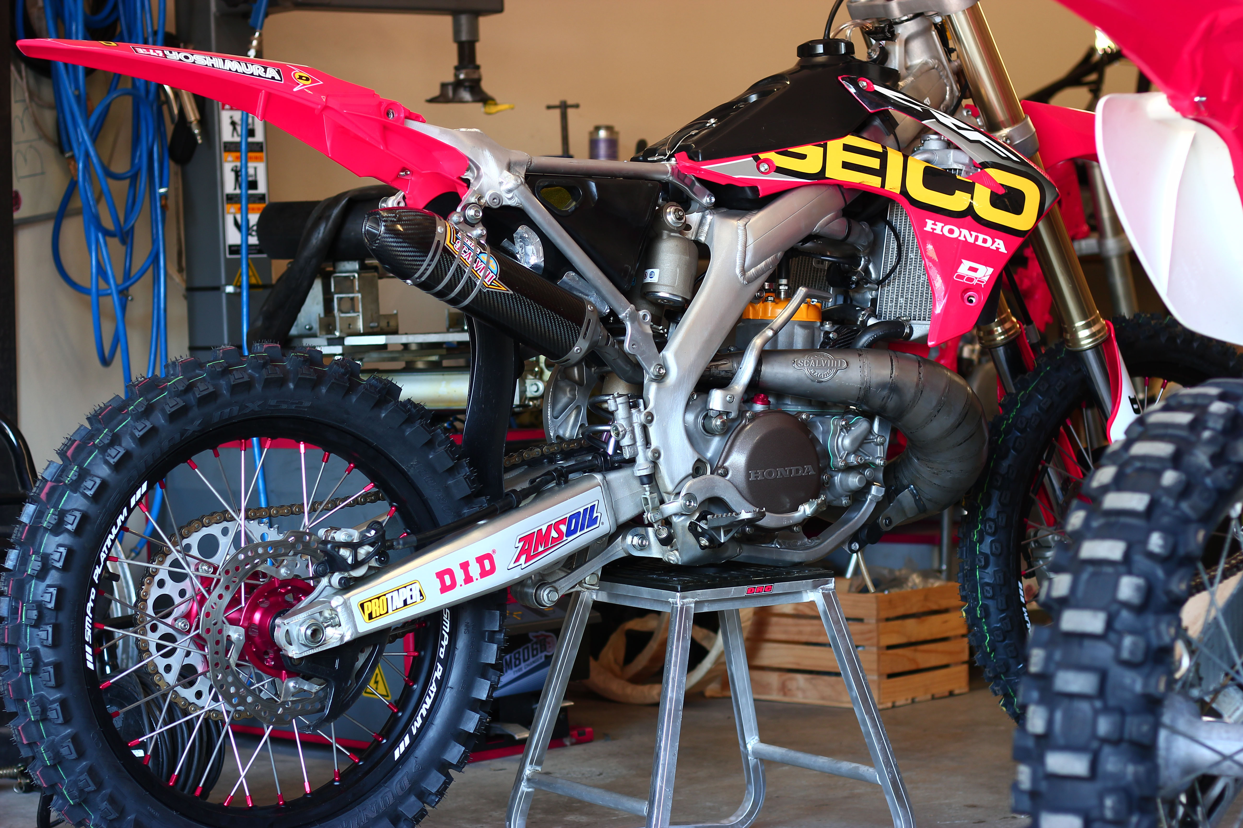 A Modern Day CR250 Two-Stroke Dreamt to Life