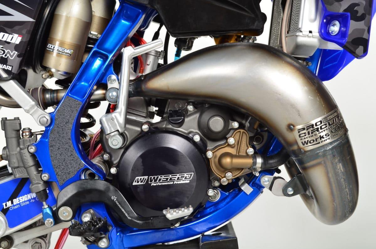 Dirt Bike Magazine's Faster USA YZ125 Two-Stroke Build