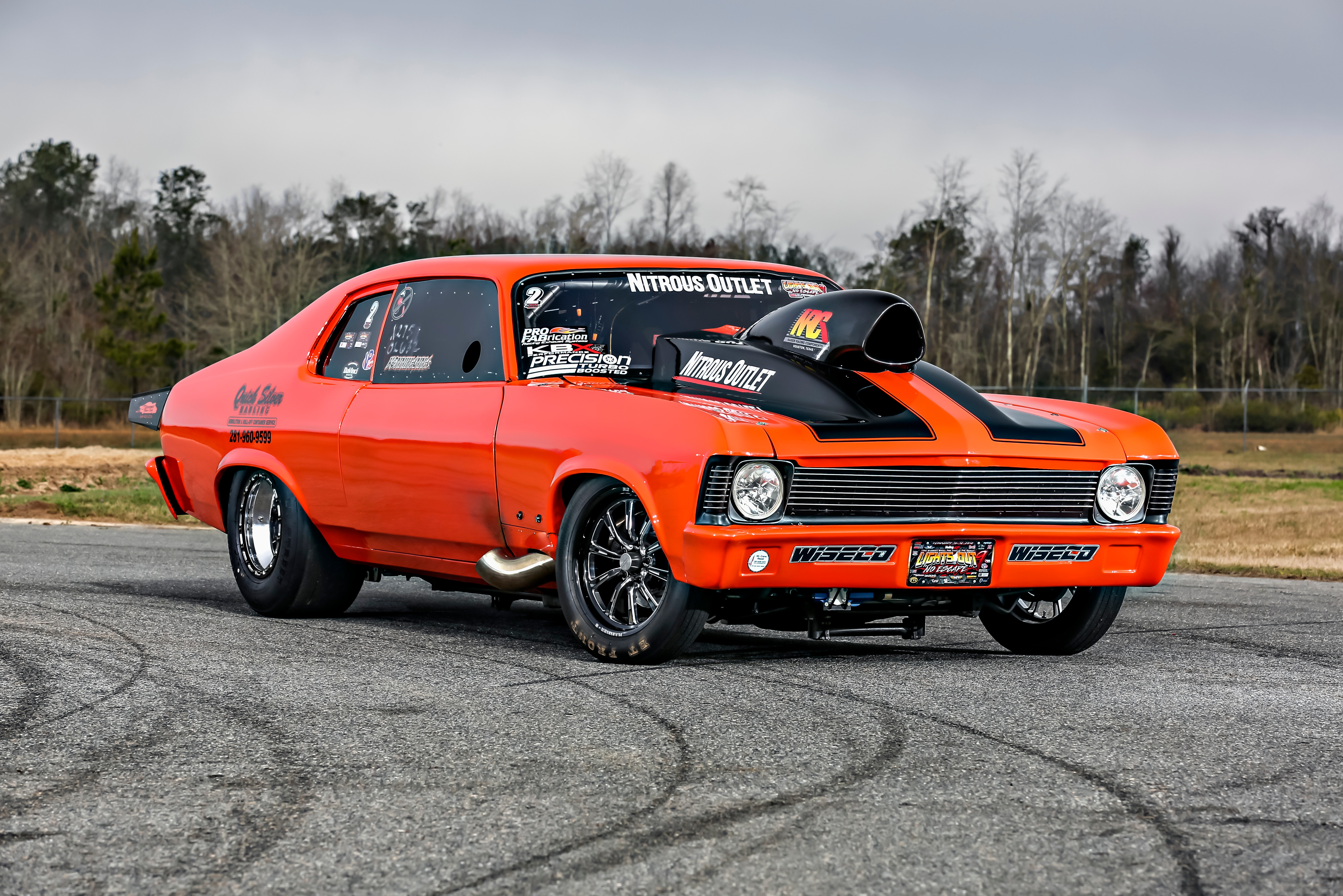 At Lights Out 8 Hubbard Piloted The Nova To Runner Up Spots In Both X275 And Outlaw 632 Cles Setting A Nitrous Record With 4 377 P That Still