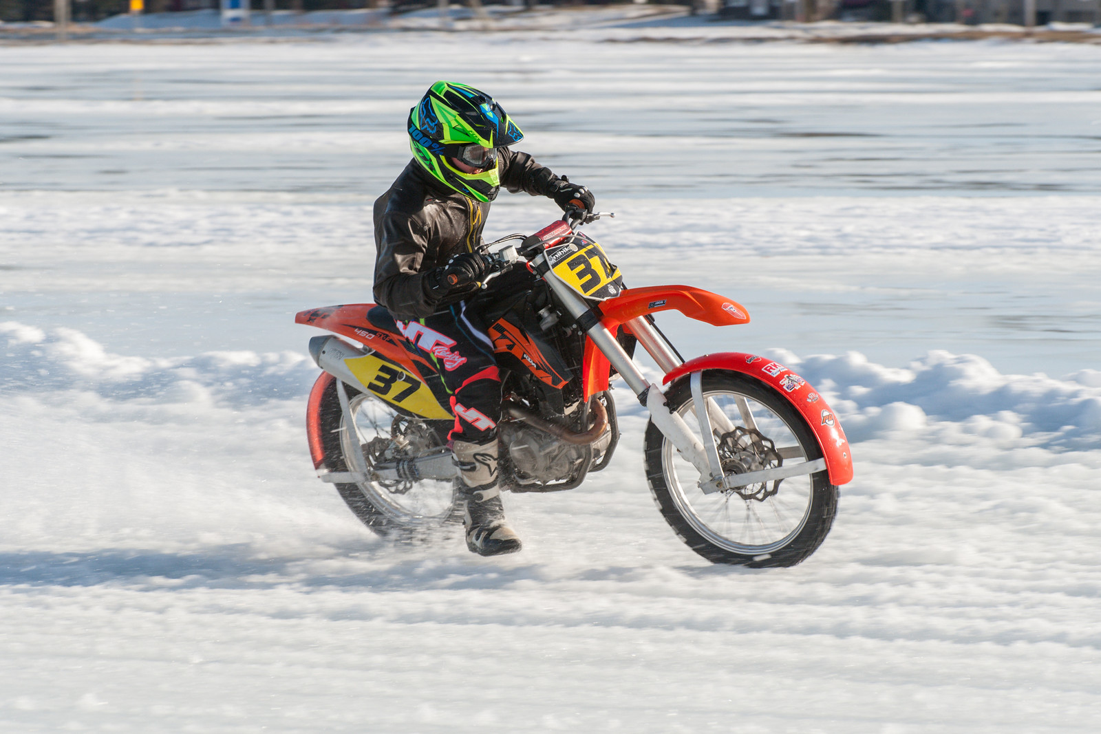 Ice Racing An Inside Look At Racing Your Dirt Bike On The Ice