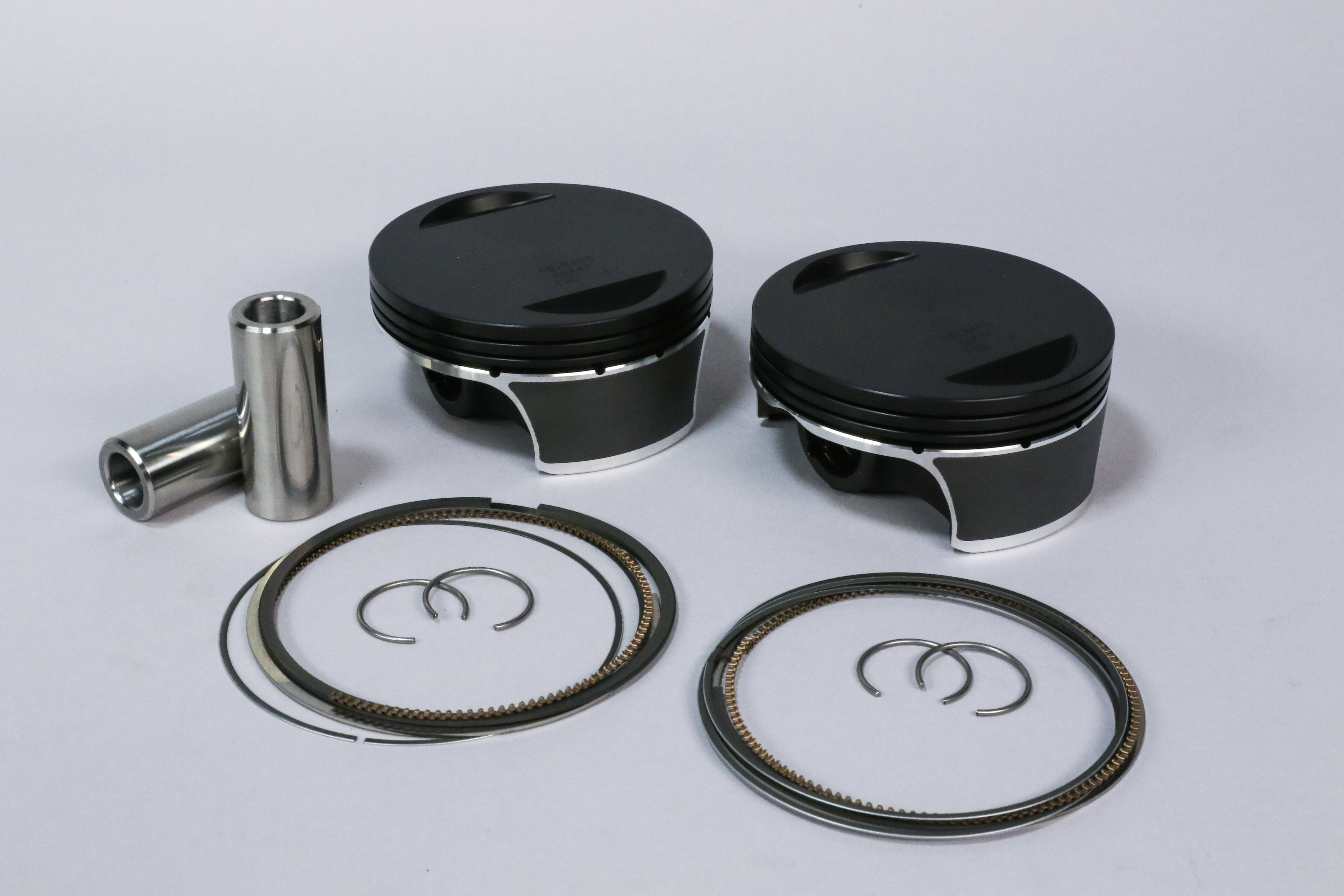 Wiseco's New Black Edition Harley Davidson Pistons with