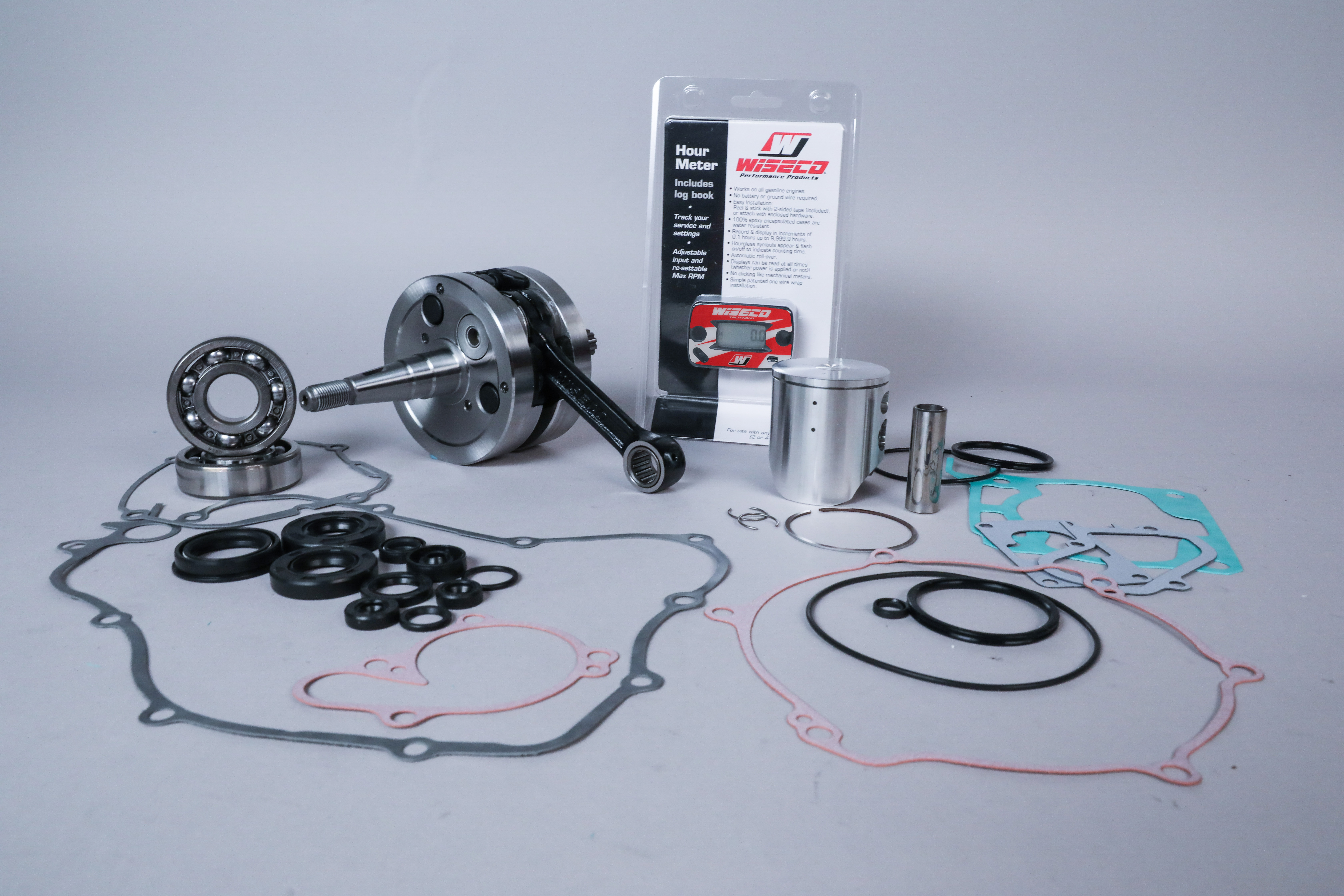 Wiseco's Garage Buddy Complete Engine Rebuild Kits for Dirt