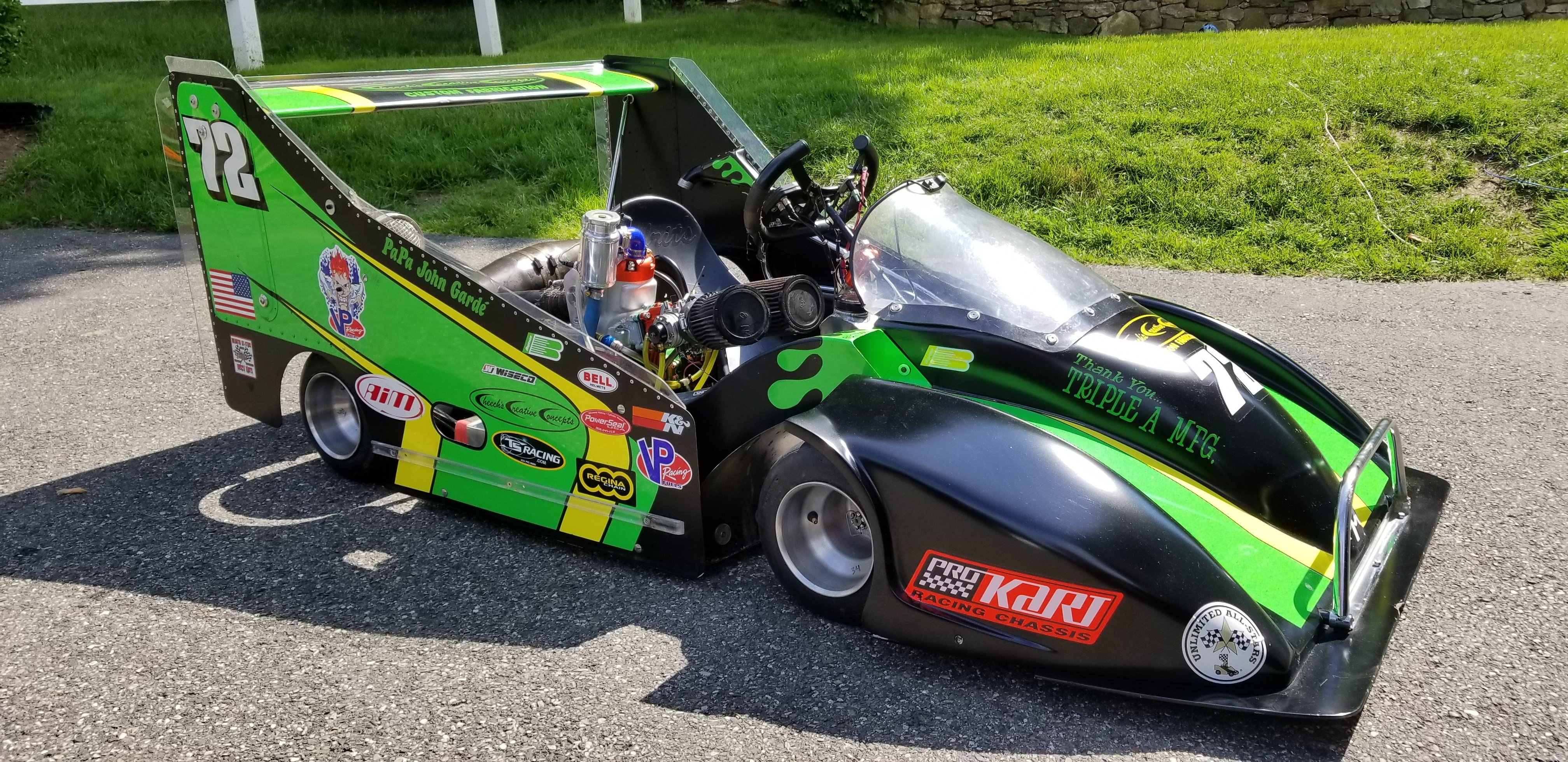 John Garde's 80+ HP Two-Stroke Unlimited Karts