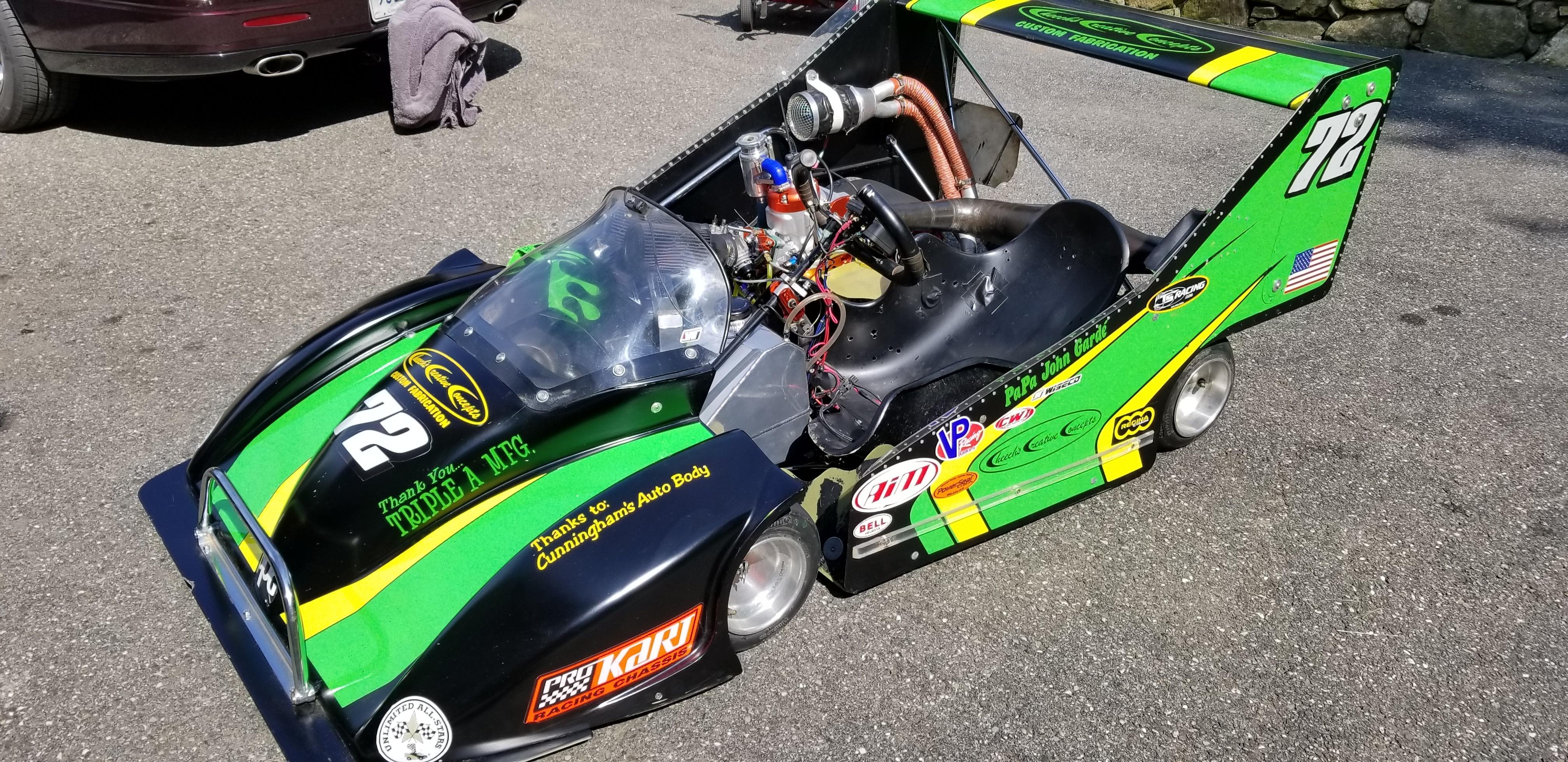 John Garde's 80+ HP Two-Stroke Unlimited Karts