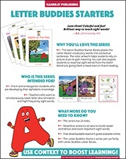Letter Buddies Starters Sales Sheet