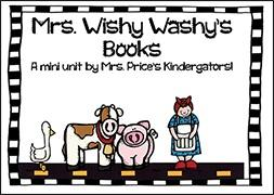 Early Birds Wishy-Washy Mini Unit