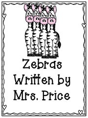 Frog and Zebra Activity Packet