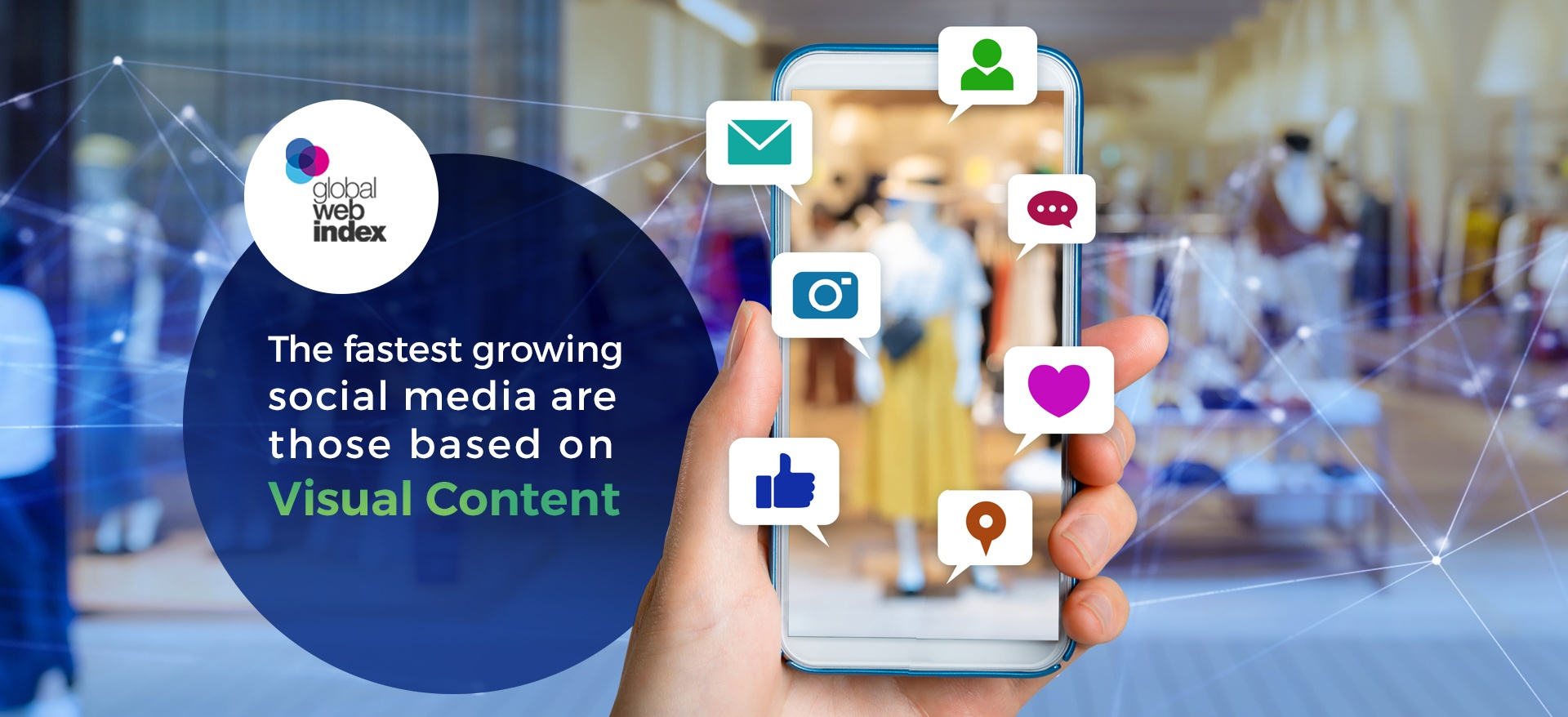 Visual Content attract people on social media networks more than other