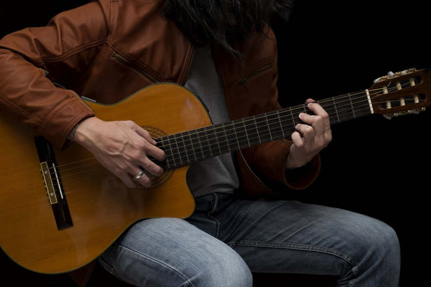 guitare classique ou folk