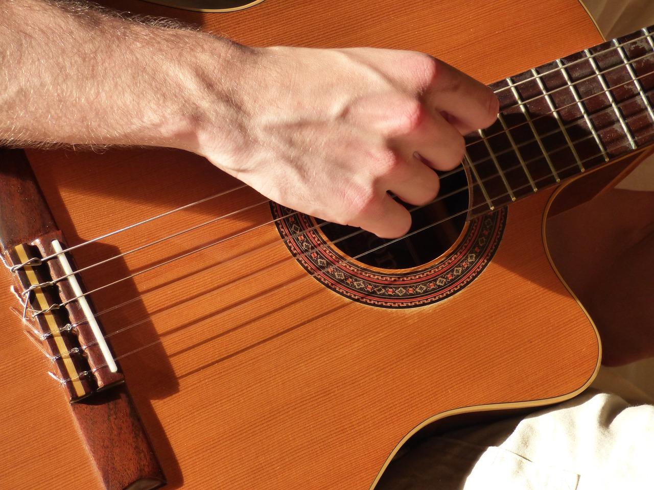tarif cours de guitare