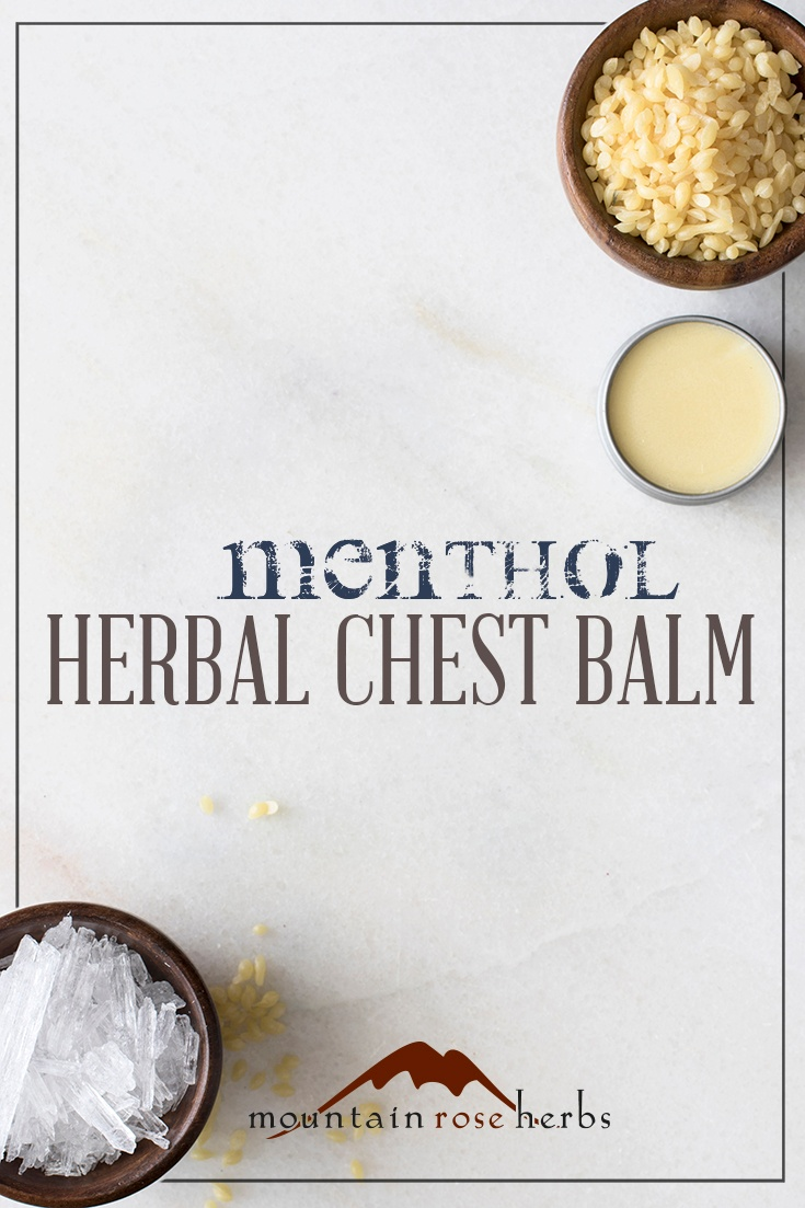 Herbal Chest Rub Recipes