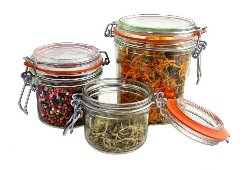 Charmant Very Versatile Glass Pantry Jars