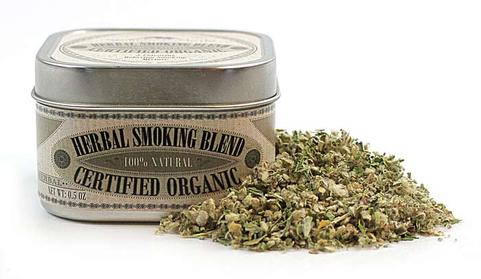 Organic Herbal Smoking Blend