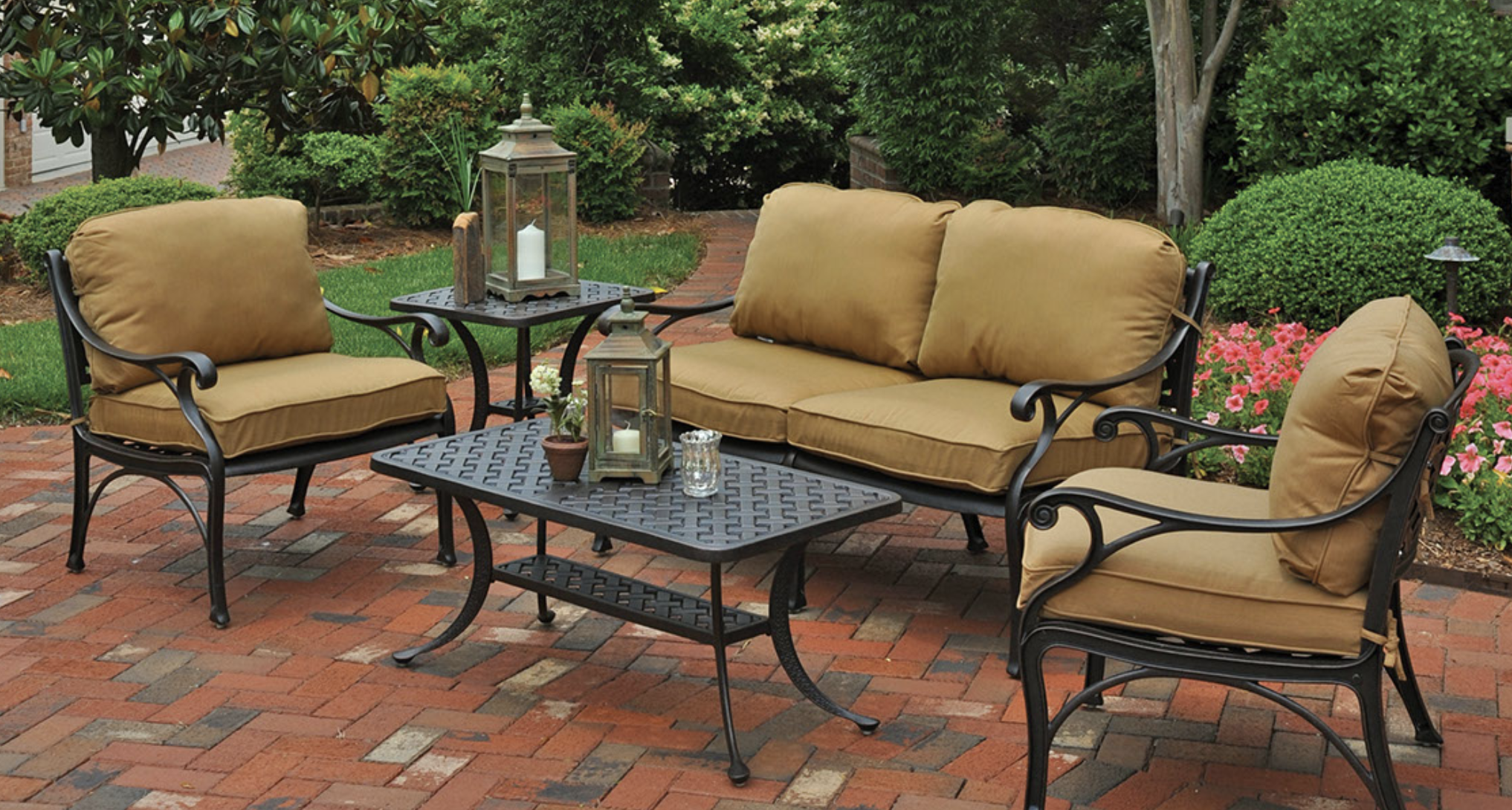 Showcase The Hanamint Brand Sunniland Patio Patio Furniture In Boca Raton