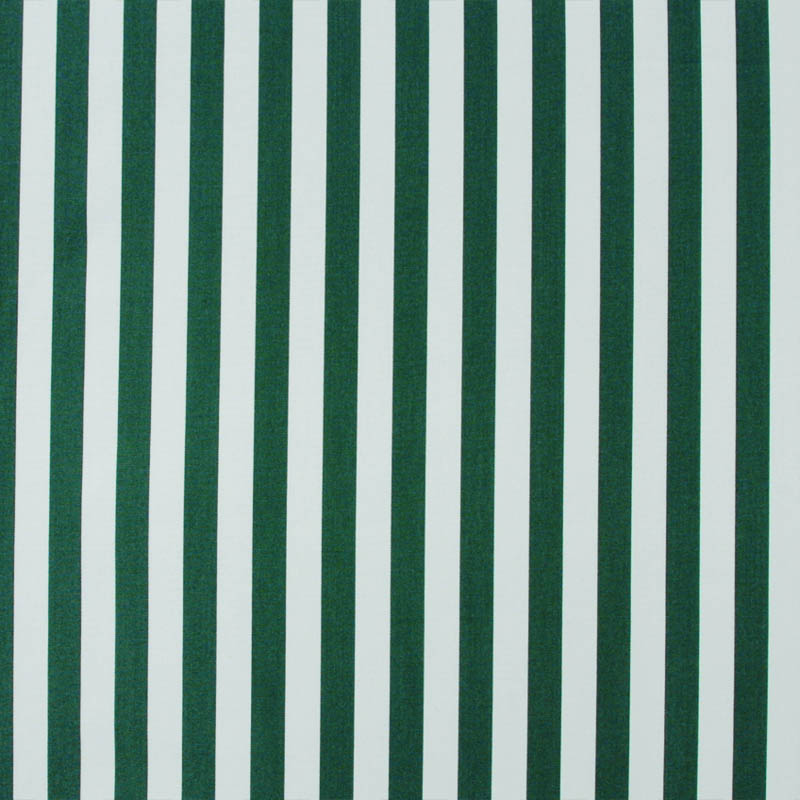 269 Safari Green and White Stripe