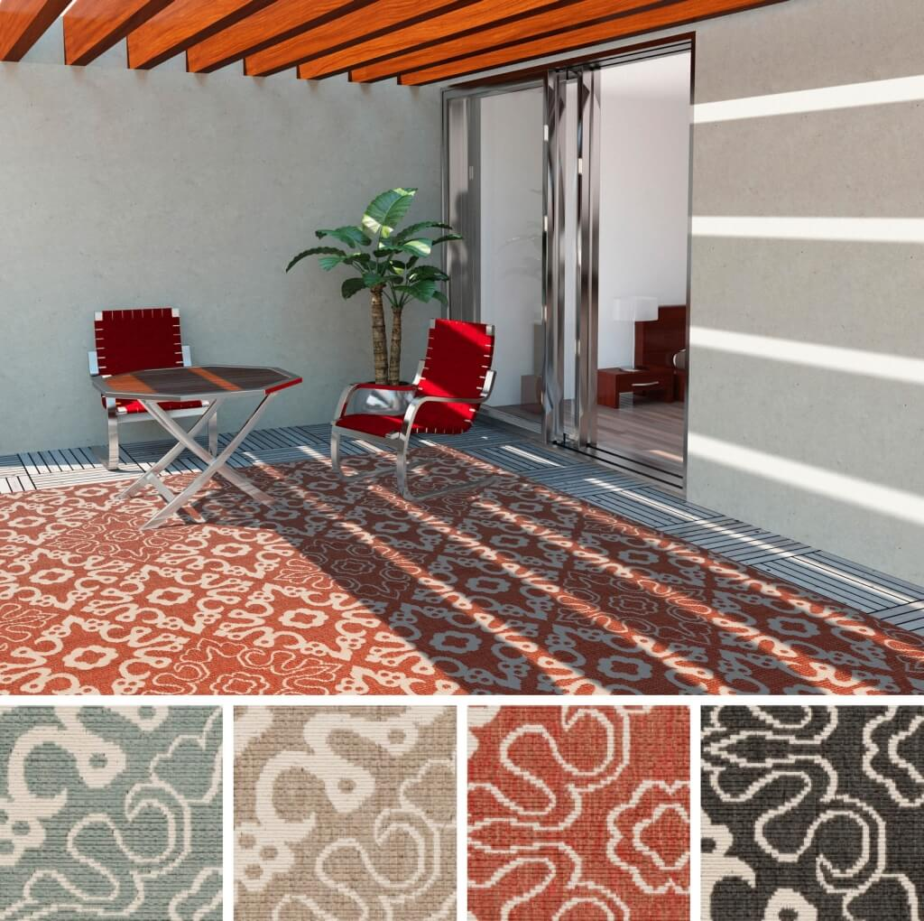 How To Decorate Your Patio Area With A Rug Sunniland