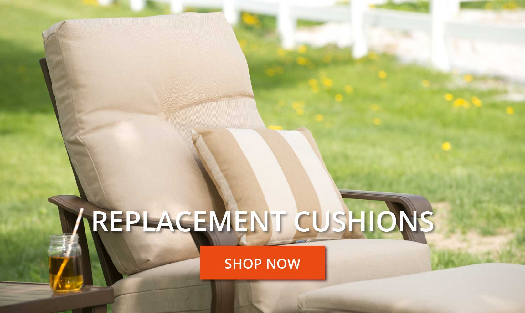 Replacement Cushions.