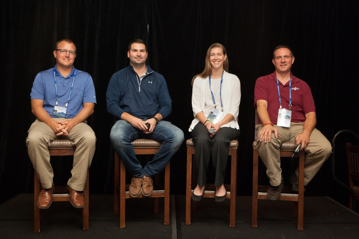 AJ Menefee of Eagle Precision with fellow panelists, Spectrum 2017 Conference