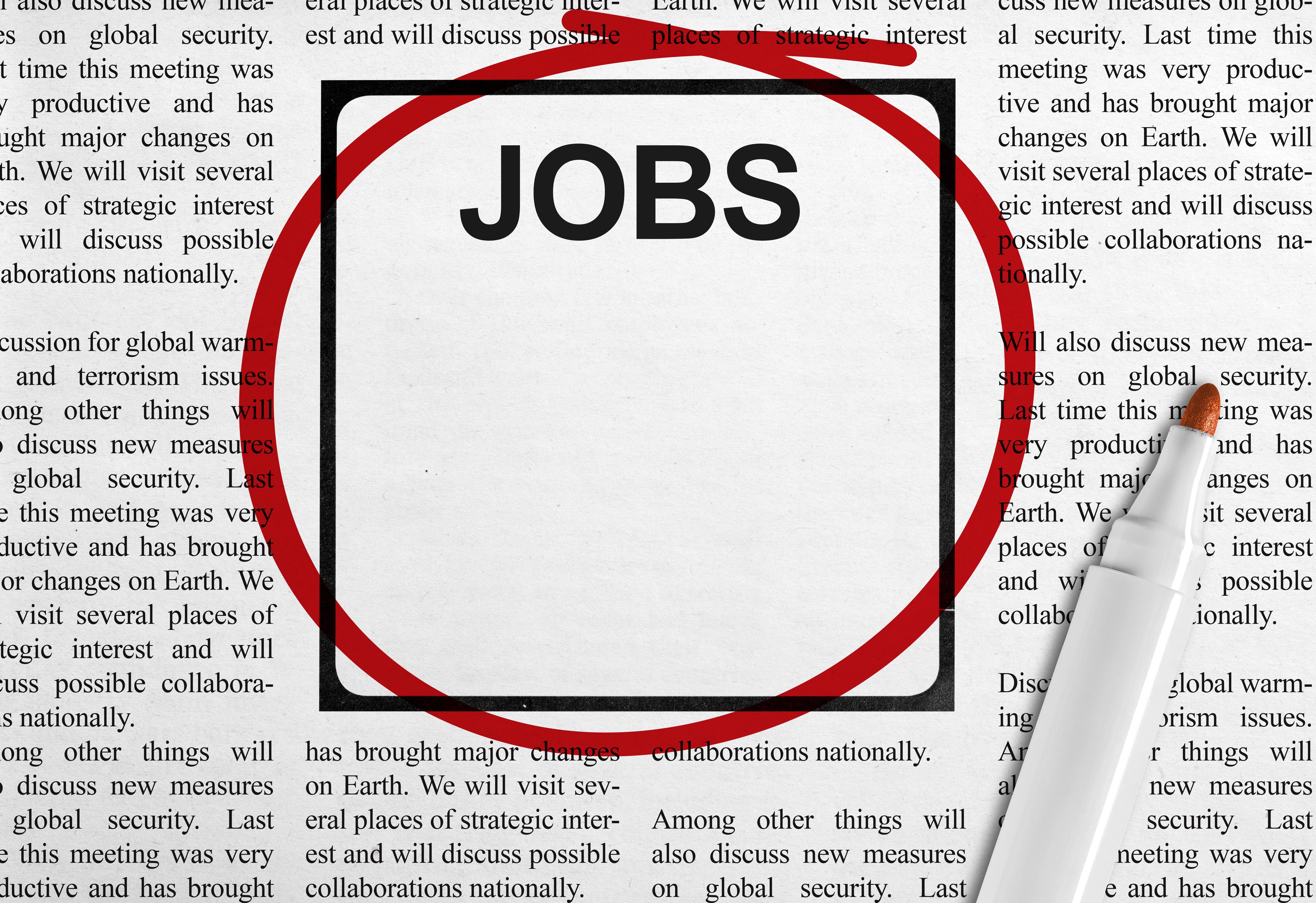 job advertisement template