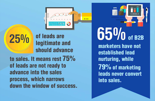 B2B marketers et lead nurturing