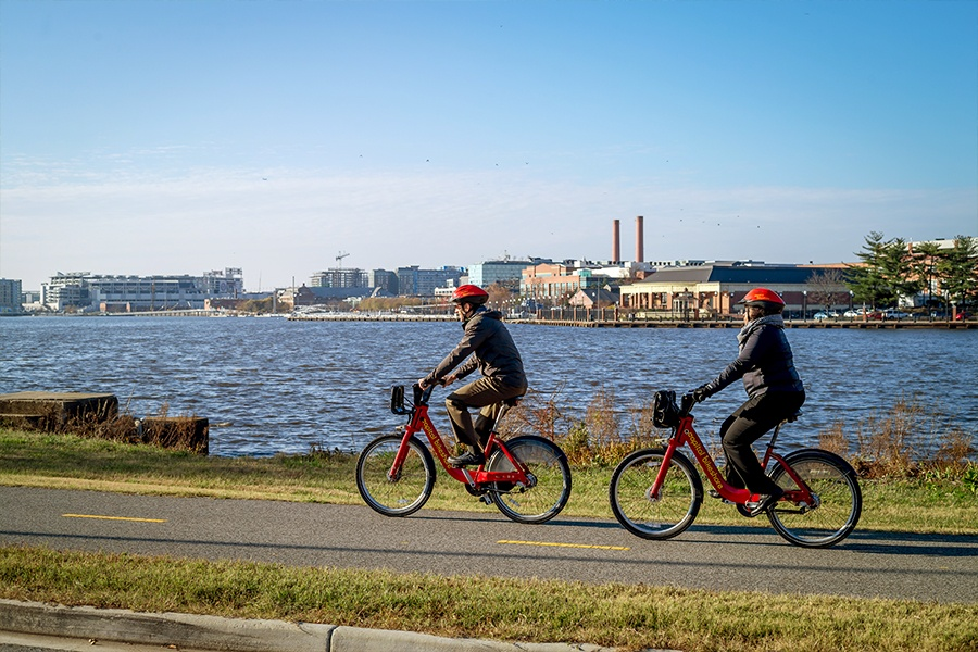 Thumbnail for capital bikeshare adds stations in wards 7 & 8