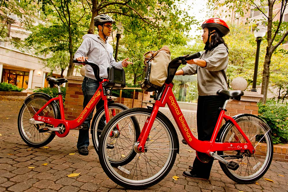 Thumbnail for Discounted Capital Bikeshare for DC College Students