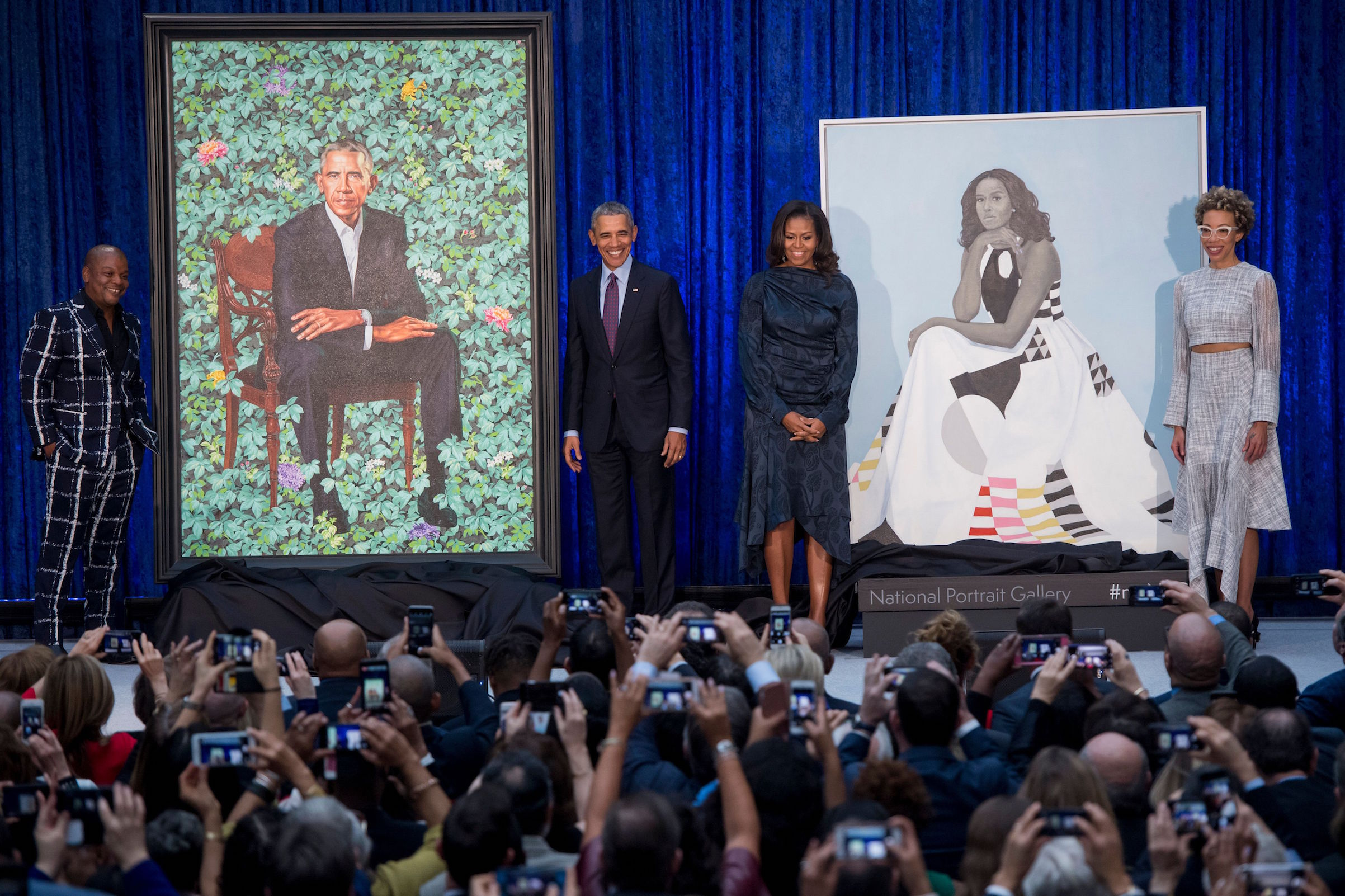 obama-portraits-unveiled