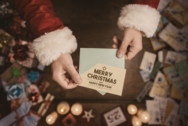 company christmas card tips corporate holiday cards