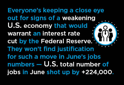 June Jobs Reports: U.S. Bounces Back Graphic