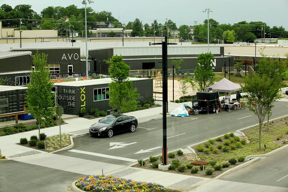 Potter's Lane is an apartment building in Midway City, CA made entirely or  upcycled shipping containers providing rent-subsidized housing for homeless  ...