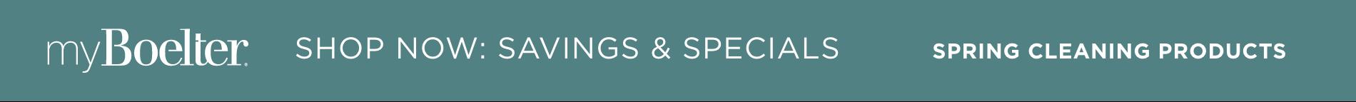 MyBoelter Specials