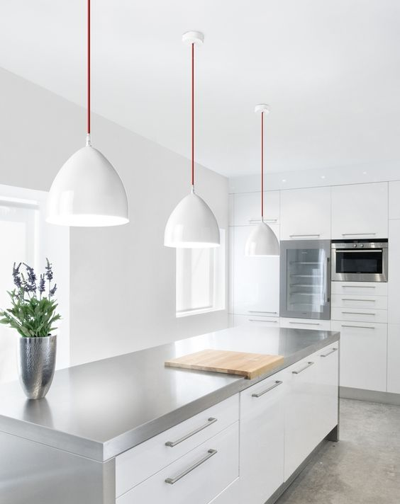 Inspiración De Diseño Con Estas Cocinas Blancas Modernas