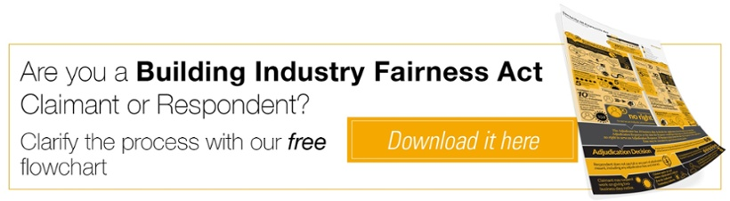 Are you a Building Industry Fairness Act Claimant or Respondent?