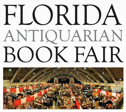 Join Us at the 2016 Florida Antiquarian Book Fair!
