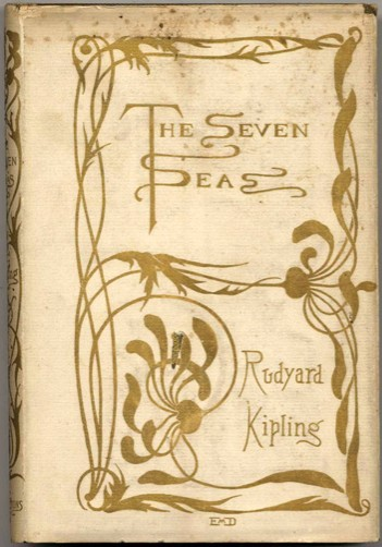 Five Rare Rudyard Kipling Editions