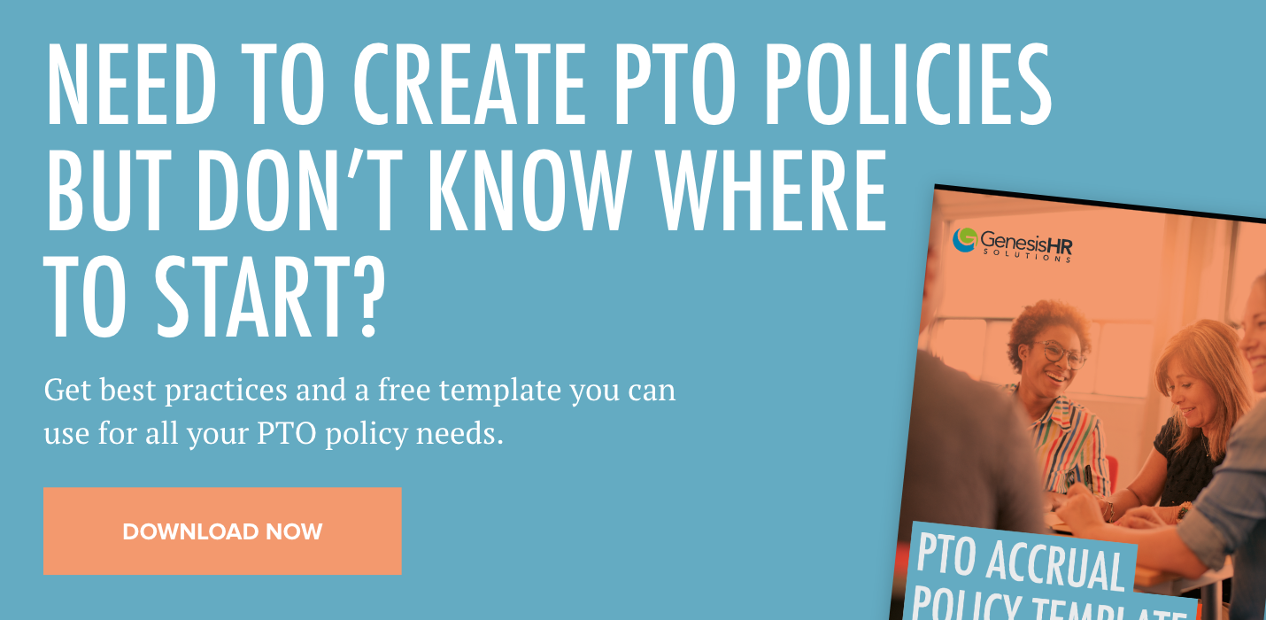 pto policy accrual template
