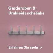 MAKK Kompetenzfeld Garderoben & Umkleideschränke