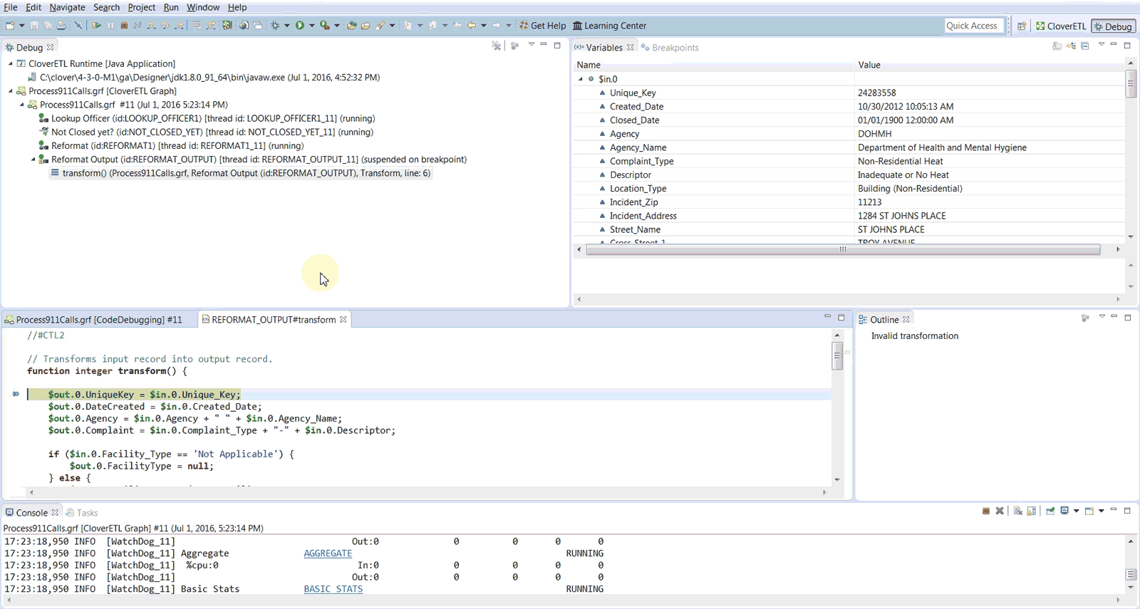Here's How to Perform Code Debugging in CloverDX Designer