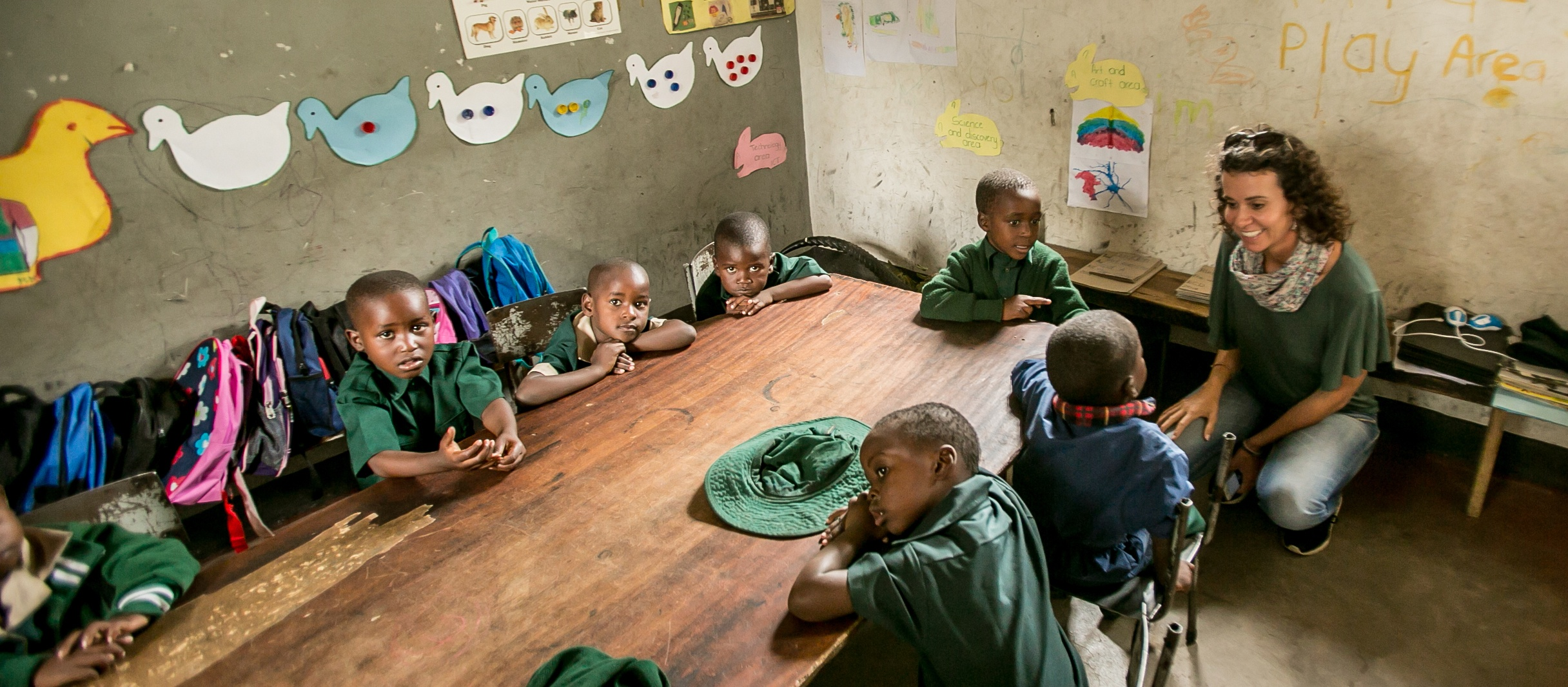 Hwange Main Camp Nursery School, Zimbabwe (15)