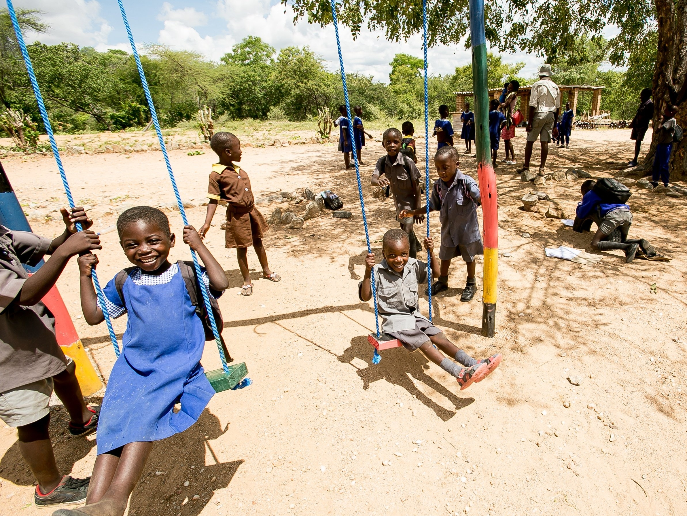 Children from Mambanje Primary School, Zimbabwe
