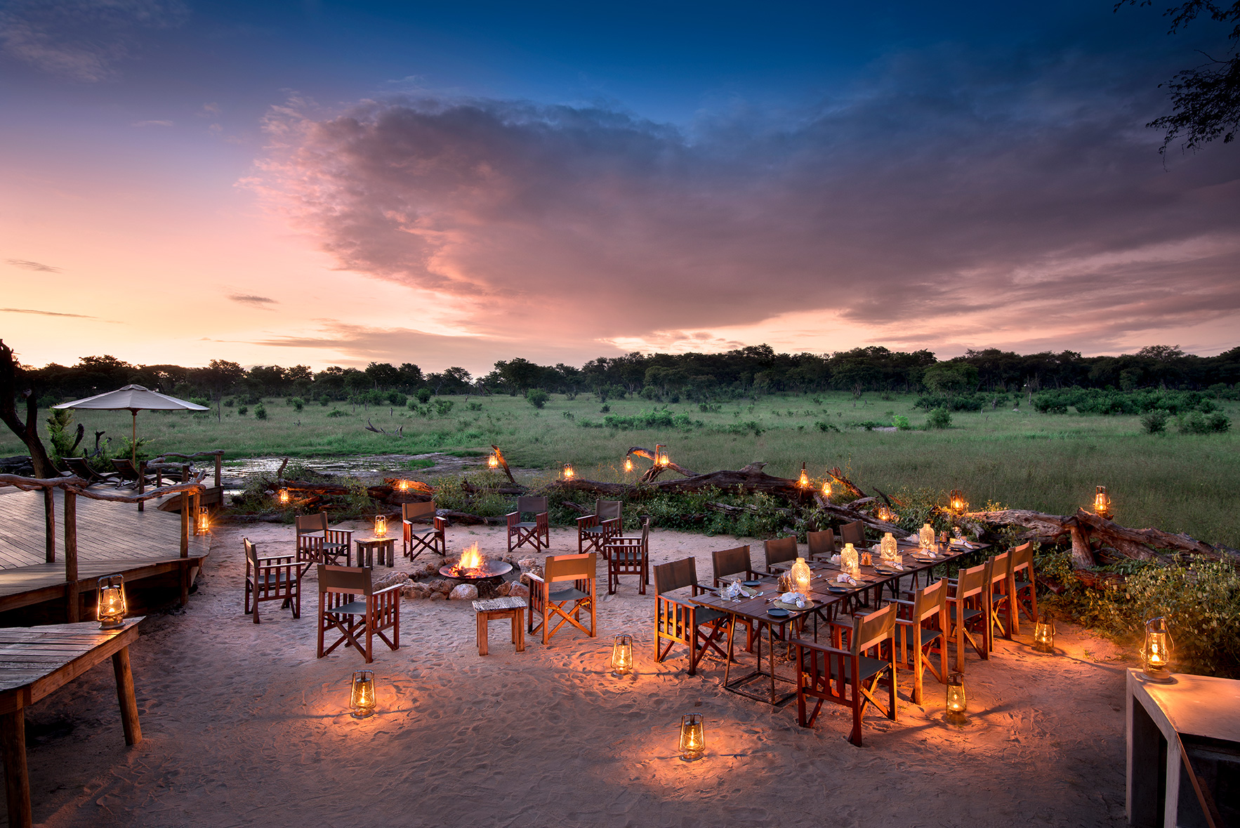 Hand sanitizer Covid-19 Health Procedures & Medical Evacuations - African Bush Camps Safari 10 Reasons Why Africa Should be First on Your Travel List Post-quarantine widely-spaced open-air dining