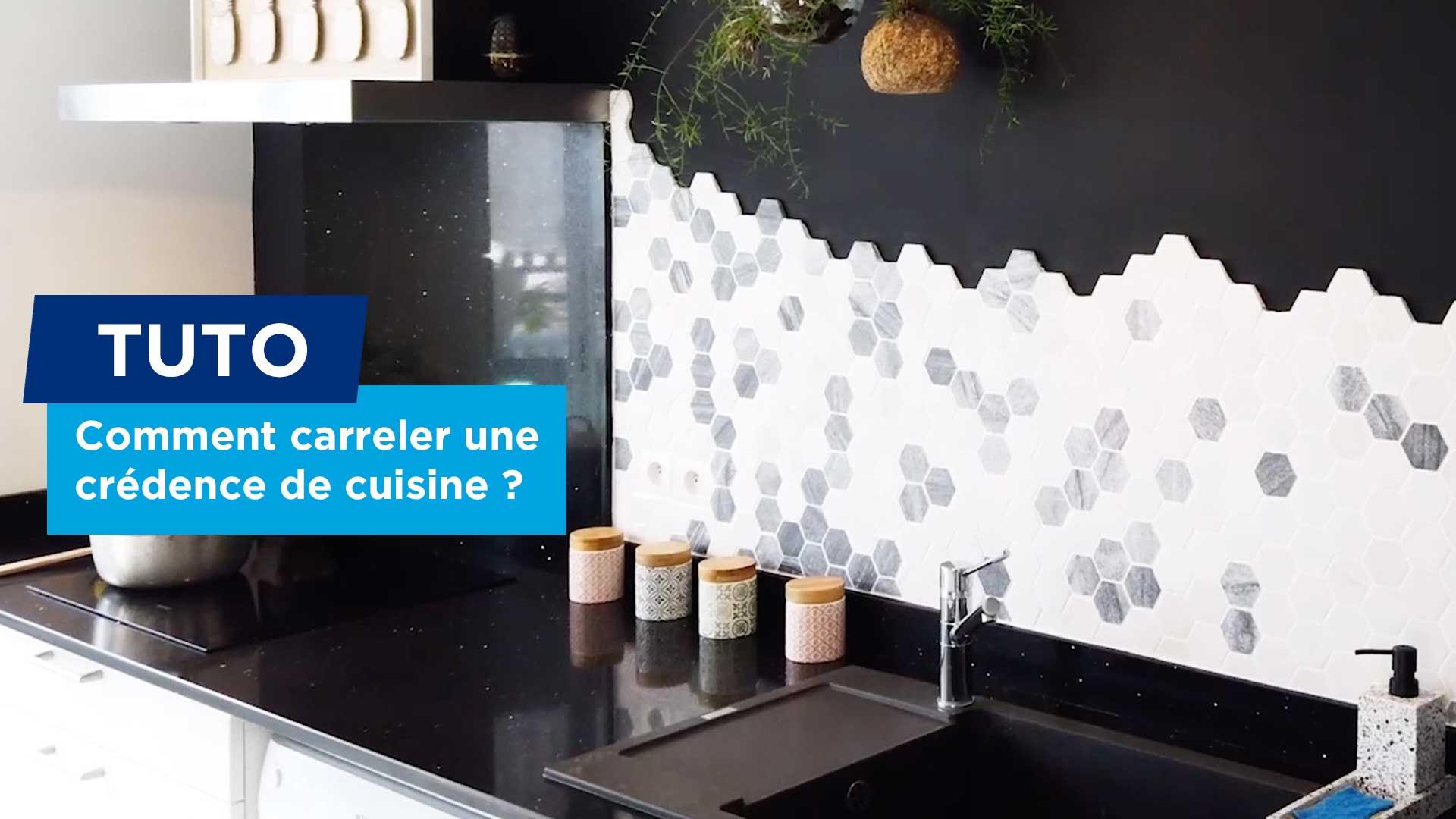 Comment carreler une cr dence de cuisine - Comment poser une credence de cuisine ...