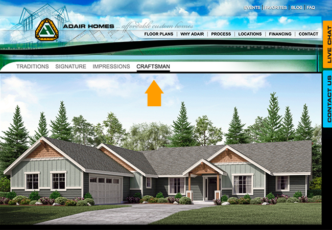 Meritage homes top ten home builder - The Jefferson Custom Floor Plan Adair Homes H O U S E