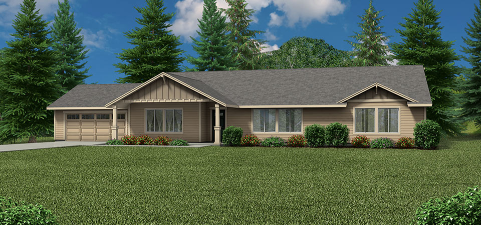 5 floor plans with dual master suites for Ranch style house plans with two master suites