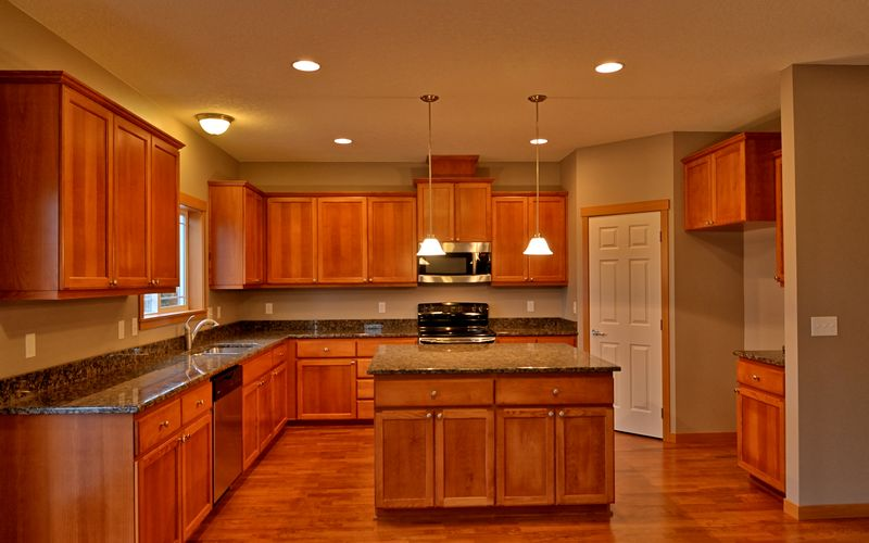 One kitchen three designs see our livingston plan for See kitchen designs