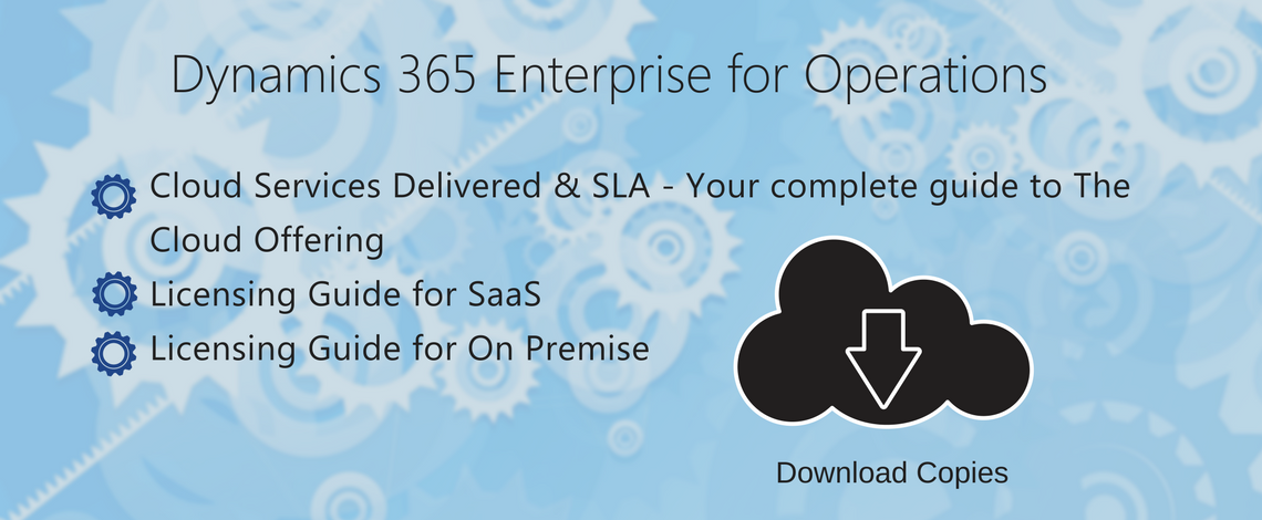 Dynamics 365 Licensing and SaaS Services Guides