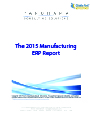2015 Manufacturing ERP Report