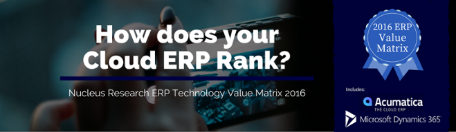 Cloud ERP Rankings